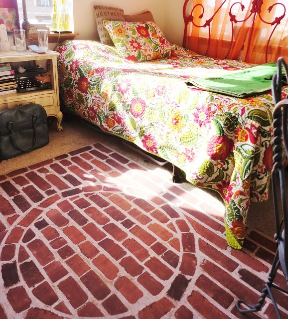 1000+ Images About Faux Brick Flooring On Pinterest
