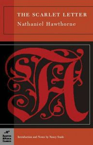 Looking forwards to reading, The Scarlet Letter, but Nathaniel Hawthorne, Barnes & Noble classic!