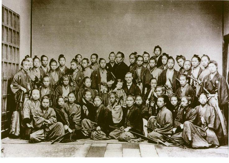 Edo Period Samurai. Vintage Photo. Circa 1880's.