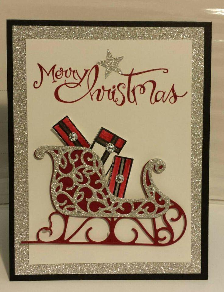 Wonderful Card Making Ideas Christmas Stampin Up Part - 8: Resultado De Imagen Para Stampin Up Santau0027s Sleigh Card Ideas