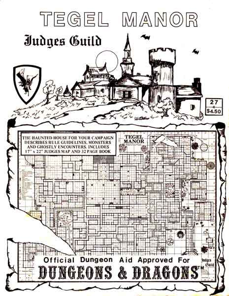 Oldschoolfrp Tegel Manor The Haunted House For Your Campaign