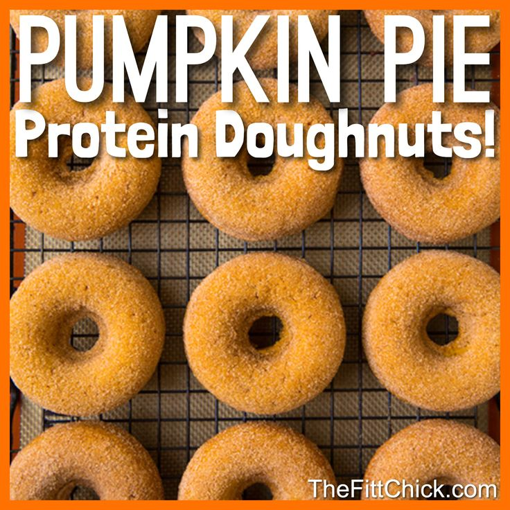 Yes, You Really Can Make Healthy Doughnuts! Like all TheFittChick recipes, this one is full of protein and perfect for weight loss, healthy kids, and YOU.