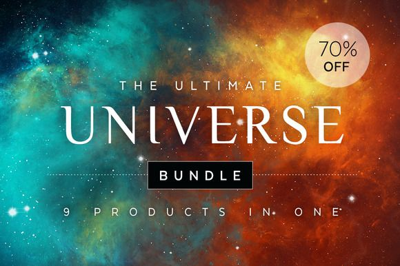 Ultimate Universe Bundle by skyboxcreative on @creativemarket