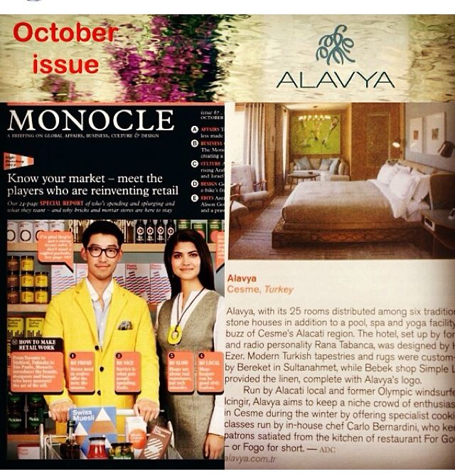 MONOCLE OCTOBER ISSUE