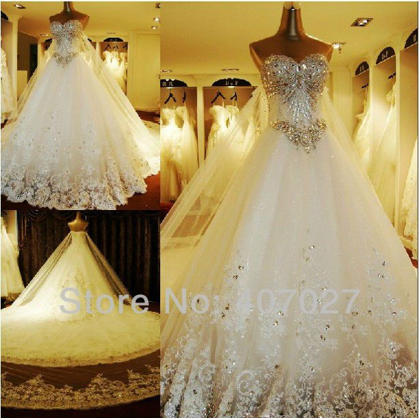Most Beautiful Ball Gown Wedding Dresses: Expensive Wedding Dresses