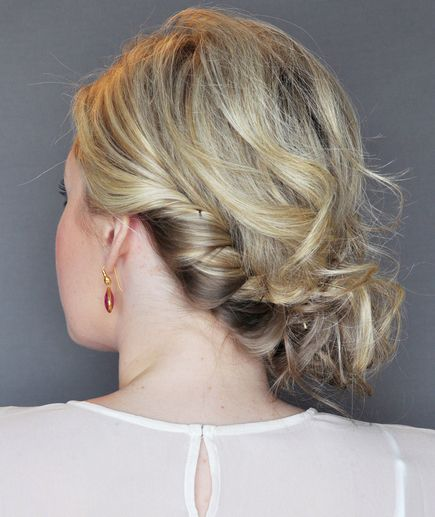 side part haircut 1000 ideas about easy side updo on twisted 9514