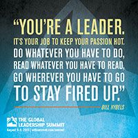 You're a leader!