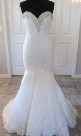 Allure Bridals wedding dress currently for sale at 67% off retail.