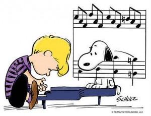 March 13, 1963 Schroder & Snoopy