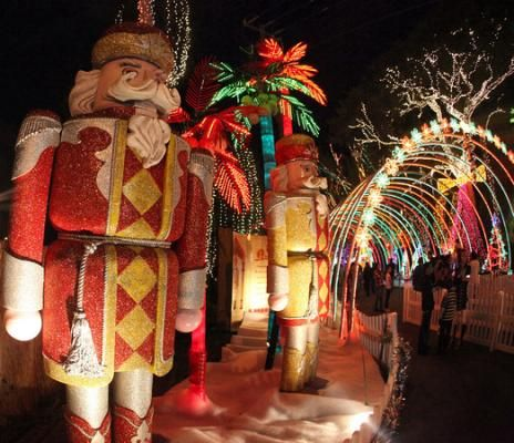 Santa's Enchanted Forest   miami.com It's not in Jupiter but close enough..Miami