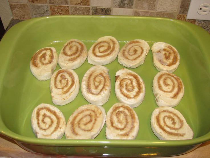 how to cook frozen cinnamon rolls