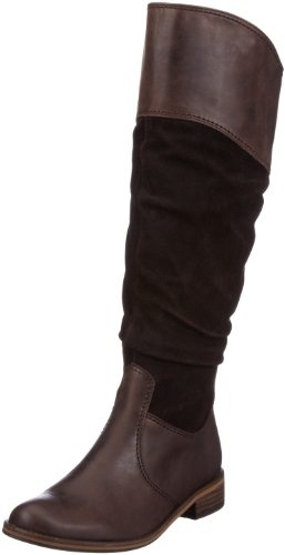 Actually I bought these boots;  Gabor Women's Dalara Knee High Boots: Amazon.co.uk: Shoes & Accessories. Looking to complete the look.