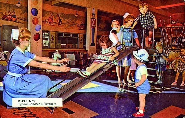 Butlin's typical children's playroom