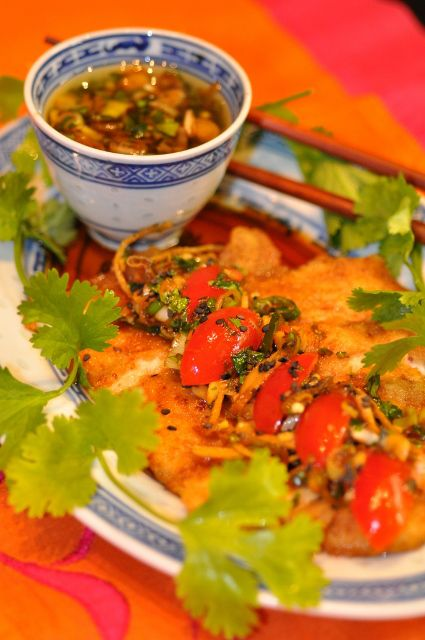 Hot and Sour Dipping Sauce or Dressing.