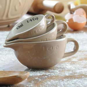 Mason Cash Measuring Cup Set - These are too cute to not have!!