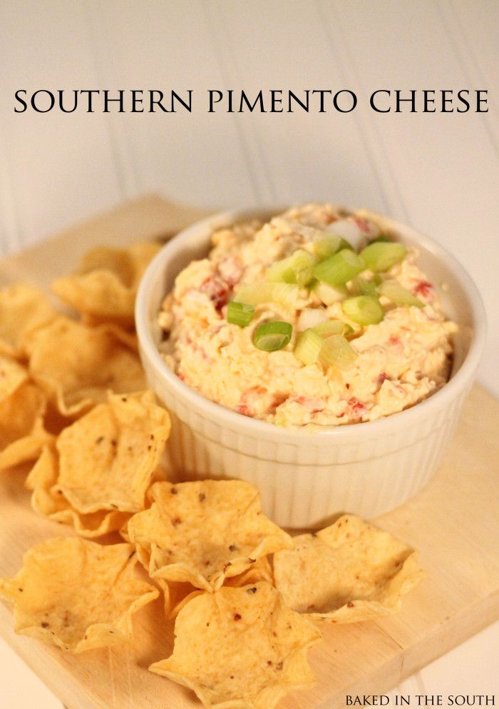 Paula Deen's Pimento Cheese - this one sounds yummy too.