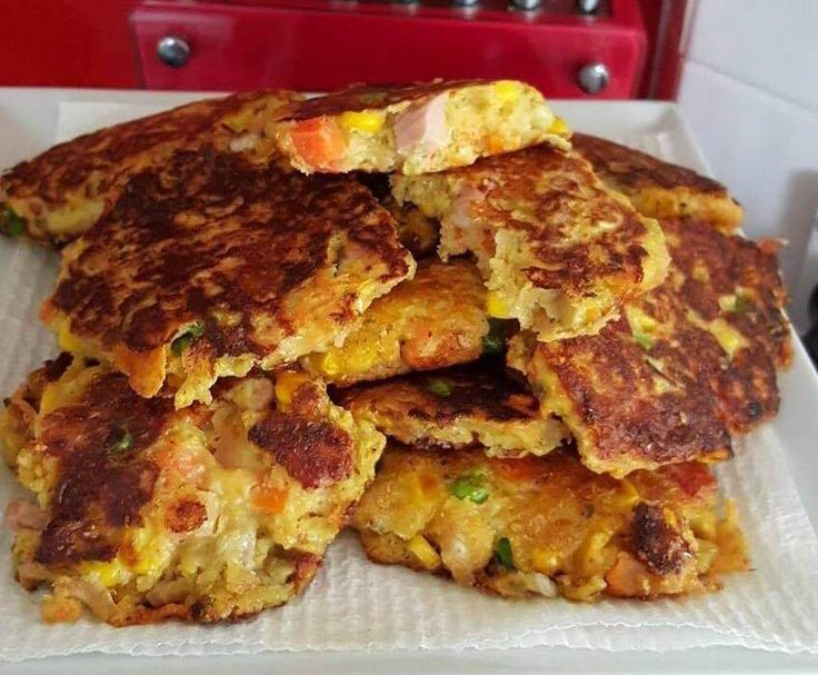Recipe Wholemeal roast meat and veg fritter by luanne88 - Recipe of category Baking - savoury