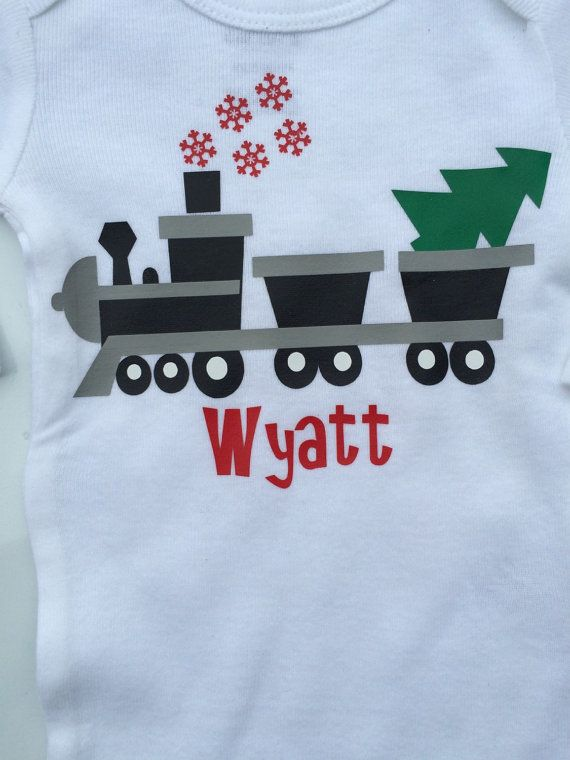 Baby boy Toddler Boy Christmas outft tChristmas by AboutASprout