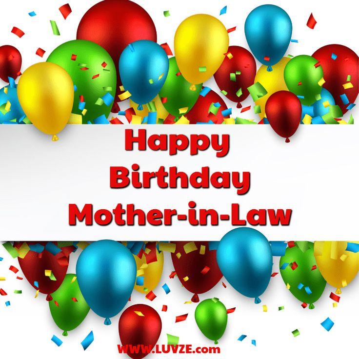 Happy Birthday MotherinLaw 110 Birthday Wishes
