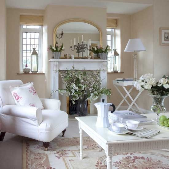 Classic Country Chic Living Room By Decorpam