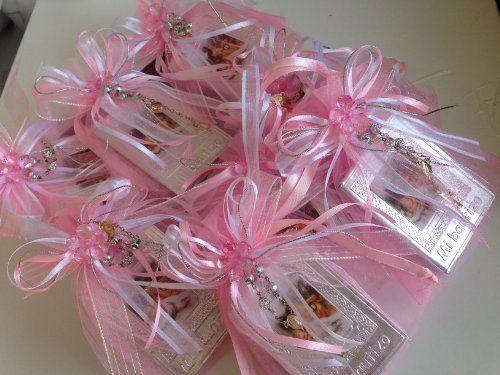 beautiful prayer books decorated with repujado printed in spanish/ includes minirosary;in decorated organza bags/ with ribbon/ acrylic flower;librito de oraciones con 63 paginas: contiene Ave Maria, Credo, Yo confieso, Como Rezar el Rosario, letanias y mucho mas.;hermosamente decorados.. tiene... see more details at https://bestselleroutlets.com/baby/bathing-skin-care/product-review-for-baptism-favors-baby-pink-12pc-prayer-books-covered-in-repujadorecuerditos-de-bautizo-en-re