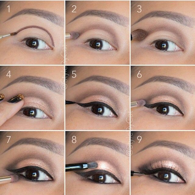 Happy Sunday Funday IG Dolls! Check out this stunning rose gold eye pictorial by the amazing @stylebycat We are SOOO in with this gorgeous natural lash look!
