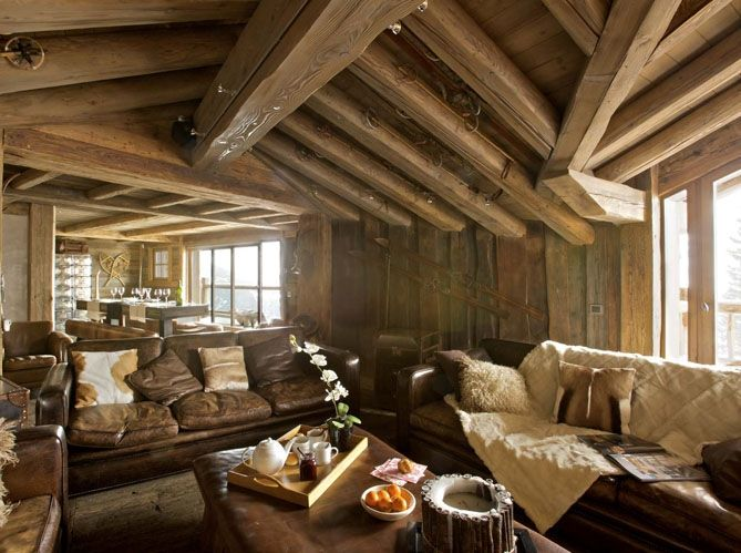 16 best room ideas for paint images on pinterest log houses wood homes and arquitetura for Rustic cabin living room ideas