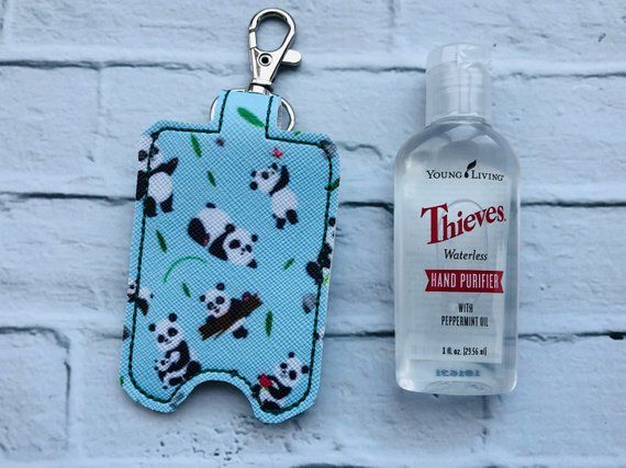 Panda Love Print Young Living Thieves Hand Purifier Sanitizer