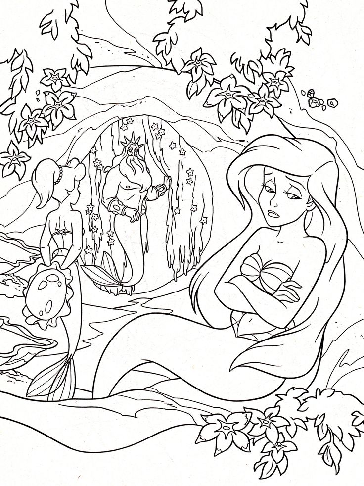 13 best images about Disney Adult Colouring Pages on Pinterest