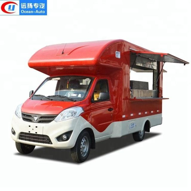 Source Chinese Customized Thailand Mini Mobile Crepe Fast Food Truck