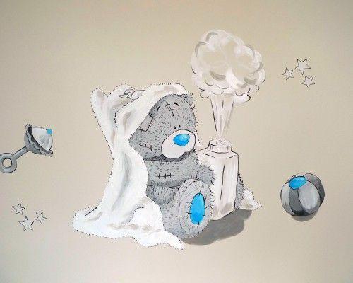 muurschildering babykamer - Google zoeken