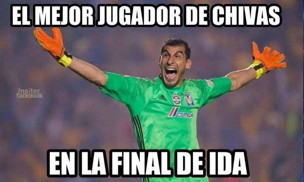 Memes Final Tigres vs Chivas