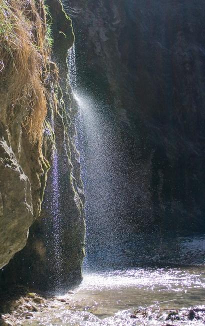 Fiastrone's Gorge.   Sibillini's Mountains, Le Marche, Italy