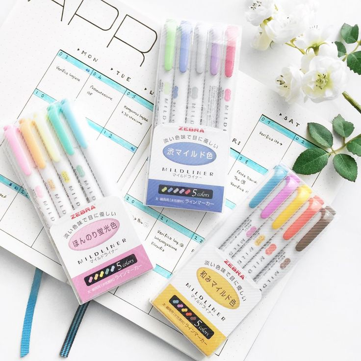 "187 Likes, 4 Comments - Yu | Bullet Journal, Studygram (@bluelahe) on Instagram: ""Mildliners review (swipe to see) ✨ Finally found an affordable seller on amazon (about 20€ for 3…"""