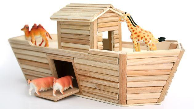 Como hacer el arca de noe - Imagui
