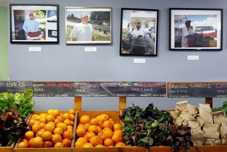 """At HMF, deputy secretary of agriculture introduces new report on food hubs"" NOLA.com 2/26/13"