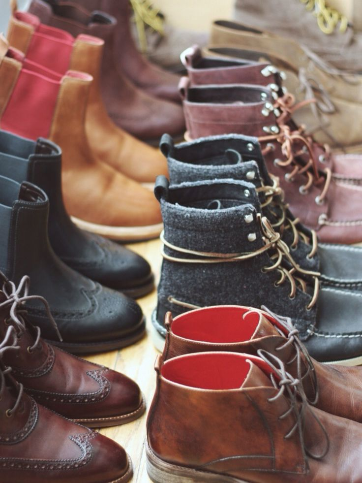 Fall boots ...getting ready for the cooler months