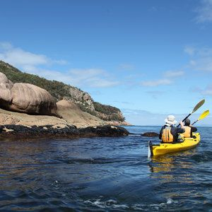 Sea kayaking mums, loads of laughs, natures bounty and a sunset that rocked our world - Freycinet Peninsula, Tasmania