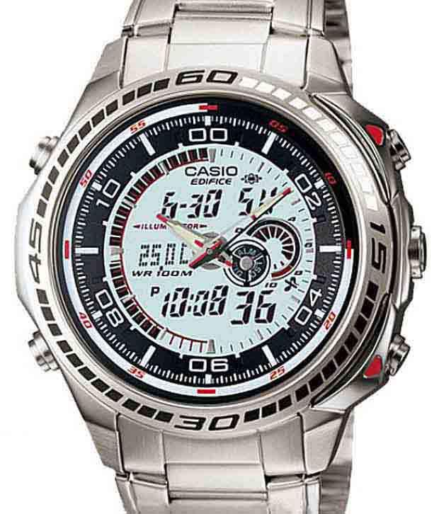 Loved it: Casio ED265 Edifice Digital Analog Ingenious Watch, http://www.snapdeal.com/product/casio-digital-analog-ingenious-watch/102709