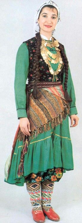 Turkish Ottoman dress