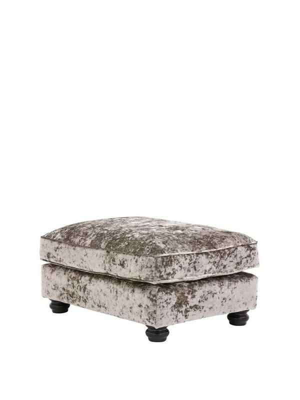 Laurence Llewelyn-Bowen Scarpa Fabric Footstool | very.co.uk