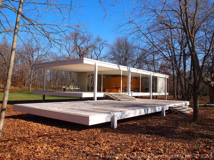 the edith farnsworth house by ludwig mies van der rohe plano illinois house werx. Black Bedroom Furniture Sets. Home Design Ideas