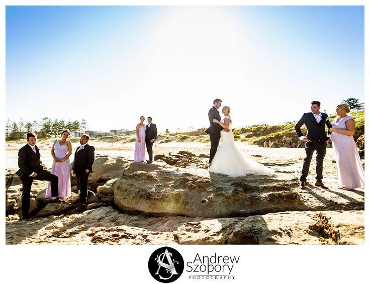 wollongong beach wedding