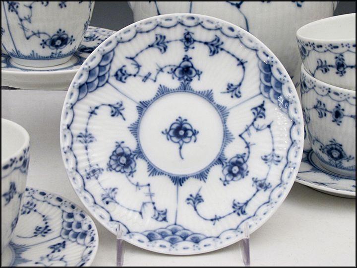 royal copenhagen blue fluted half lace - Google Search