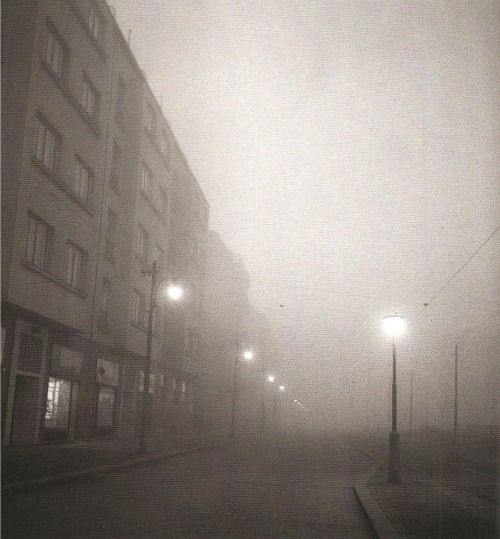 Prague by Z.Tmej, Fog (1946)
