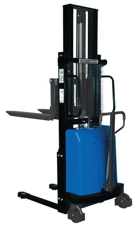 Atlas yarı akülü elektrikli istifleme makinası 1 ton yük taşıma, 2.5 metre kaldırma kapasitelidir. #atlas #istifmakinasi #lifter #battery #greenenergy http://www.ozkardeslermakina.com/urun/yari-akulu-istif-makinasi-atlas-atfl10b25/