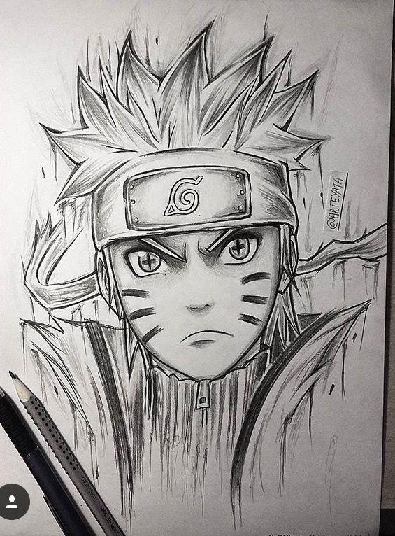 NarutoDrawing Naruto uzumaki, Arte naruto, Ideias esboço