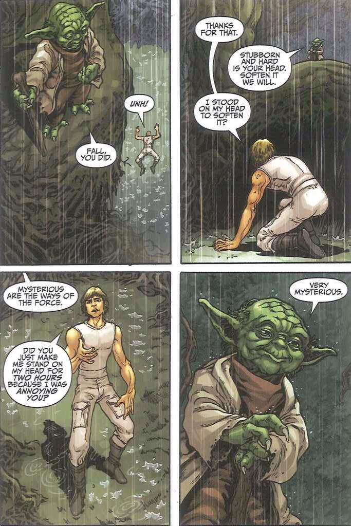 Yoda, you are a legend.