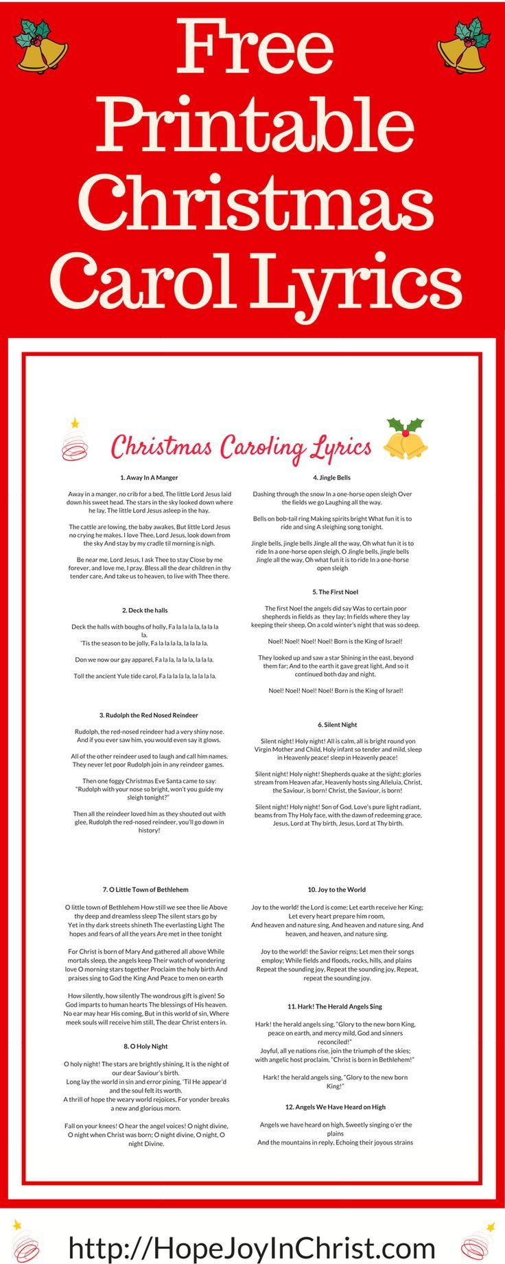 Is There Value In The Christmas Caroling Tradition Hope Joy In Christ Christmas Carols Lyrics Carol Lyrics Christmas Lyrics