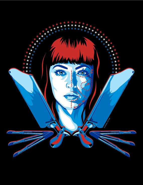 American Mary tshirt by AtomicCotton on Etsy, $20.00